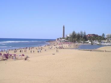 Spiaggia Maspalomas Gran Canaria